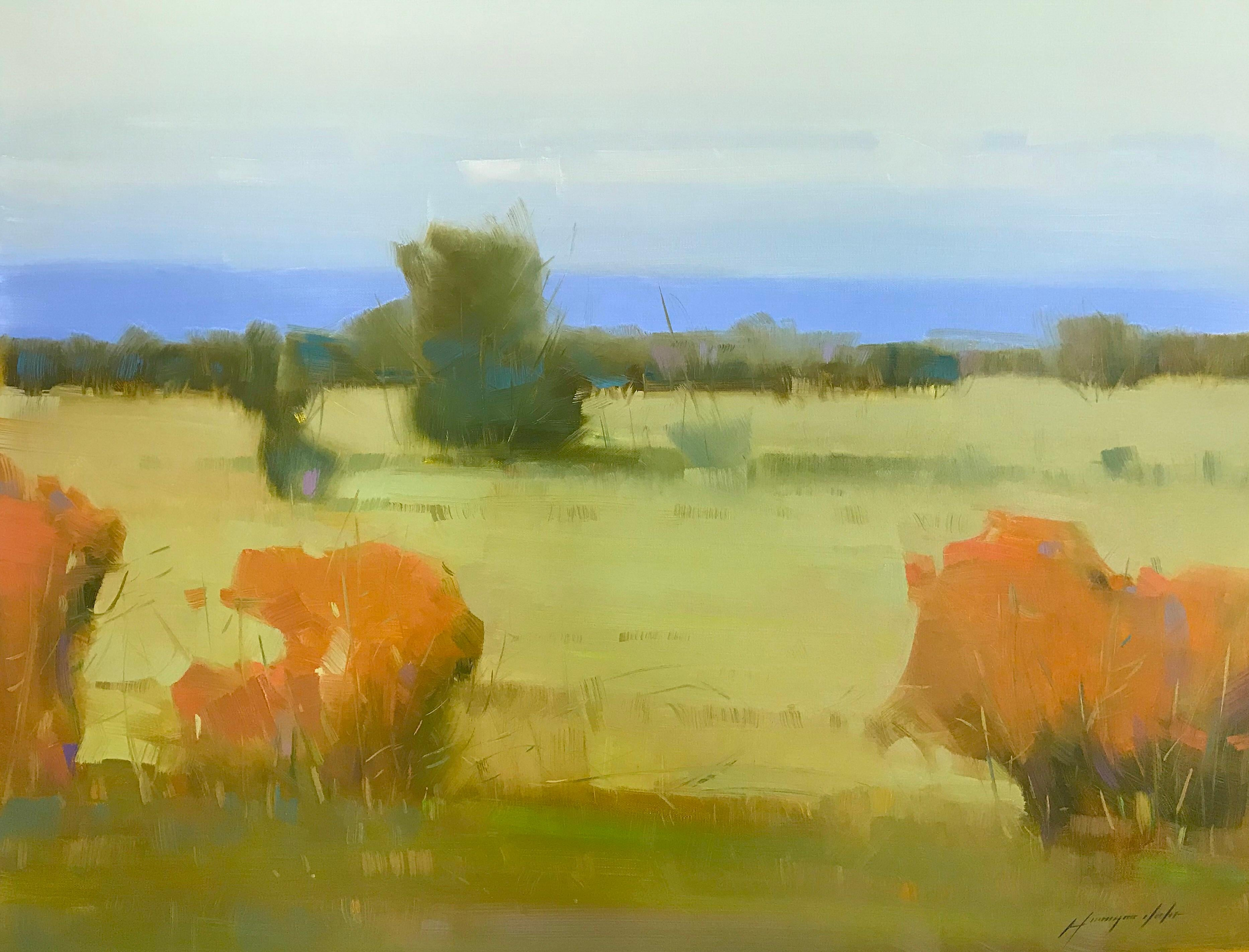 Meadow, Oil Painting