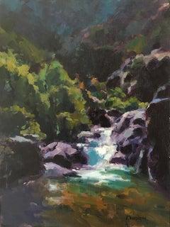 Bridge to Nowhere, Oil Painting