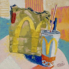 Fast Food, Oil Painting
