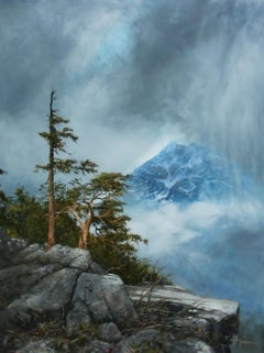 Rocky Mountain High, Oil Painting
