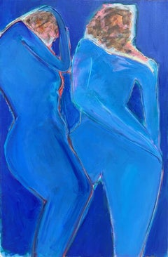 Blue Dance, Original Painting