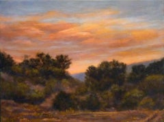 Warm Dusk No. 2, Oil Painting