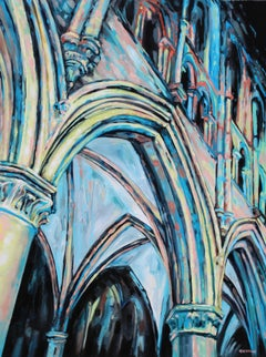 From Below - Arches and Arches, Original Painting