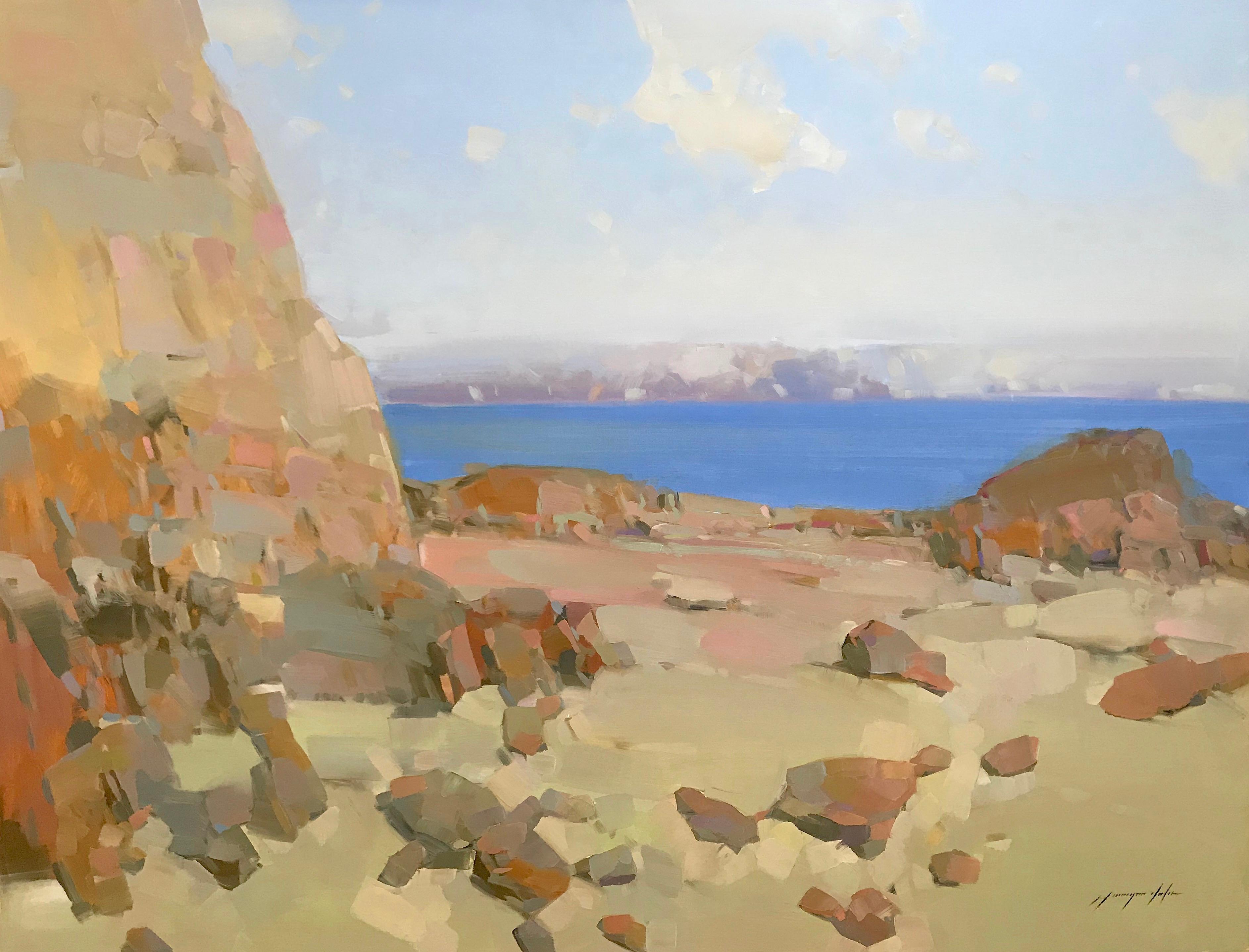 Seashore, Oil Painting