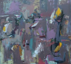 Reflections, Abstract Painting
