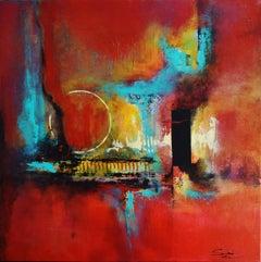 Hechizo, Abstract Painting