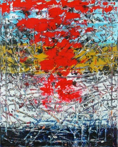 The Fall, Abstract Painting