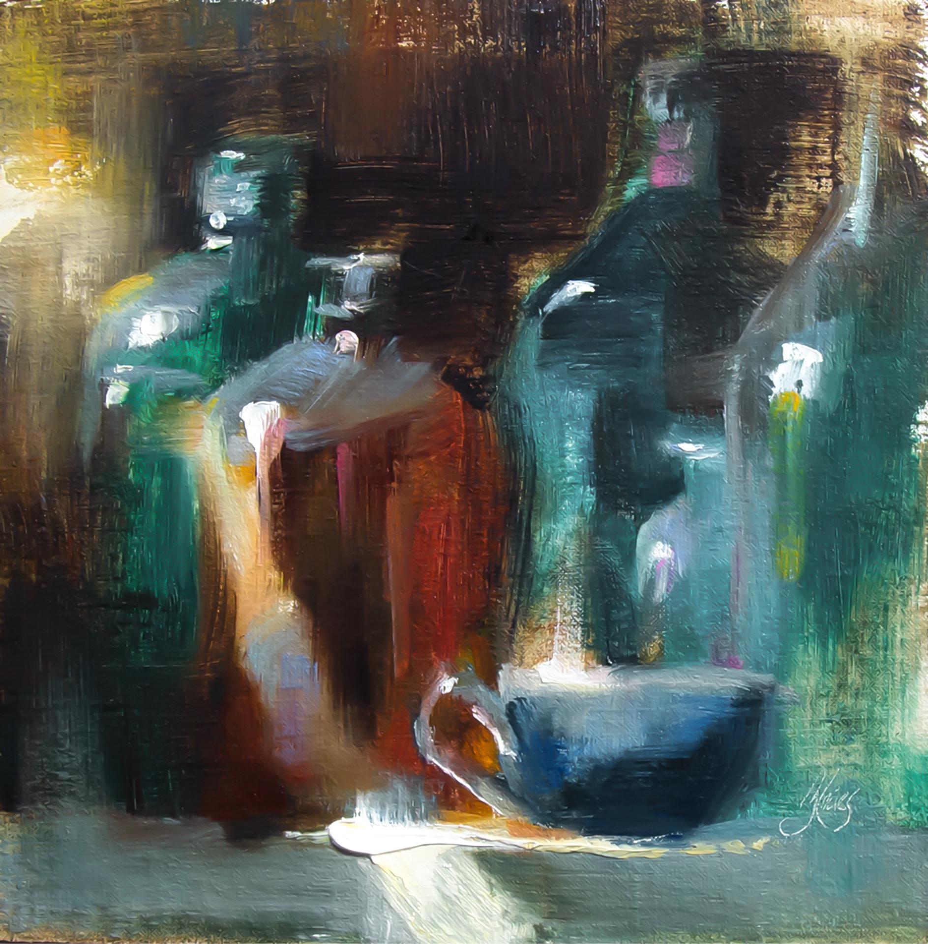 Slice of Light, Oil Painting