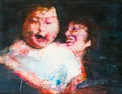 Mother and Child 04, Original Painting