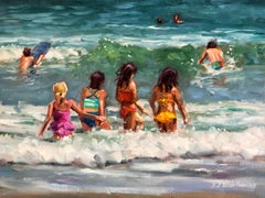 Wait Up, Oil Painting