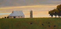 Midwest Farm, Oil Painting