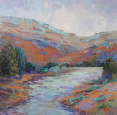 Snake River Byways, Oil Painting