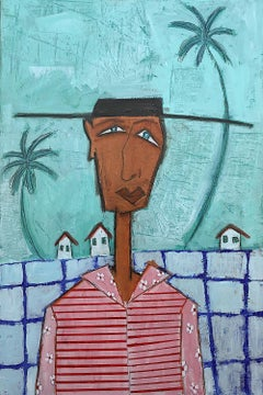 The Cowboy King of Key West, Original Painting