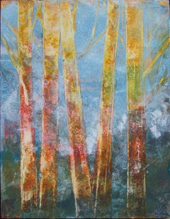 Bare Trees 2, Oil Painting