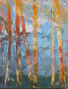 Bare Trees 1, Oil Painting