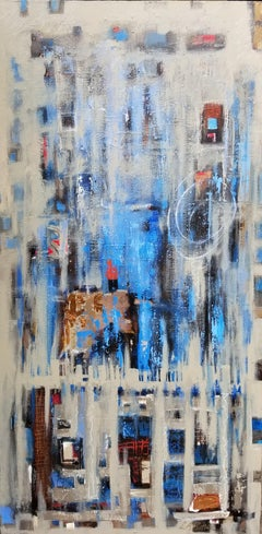 The Occasional Rainy Wednesday, Abstract Painting