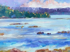 Tide Coming In, Oil Painting