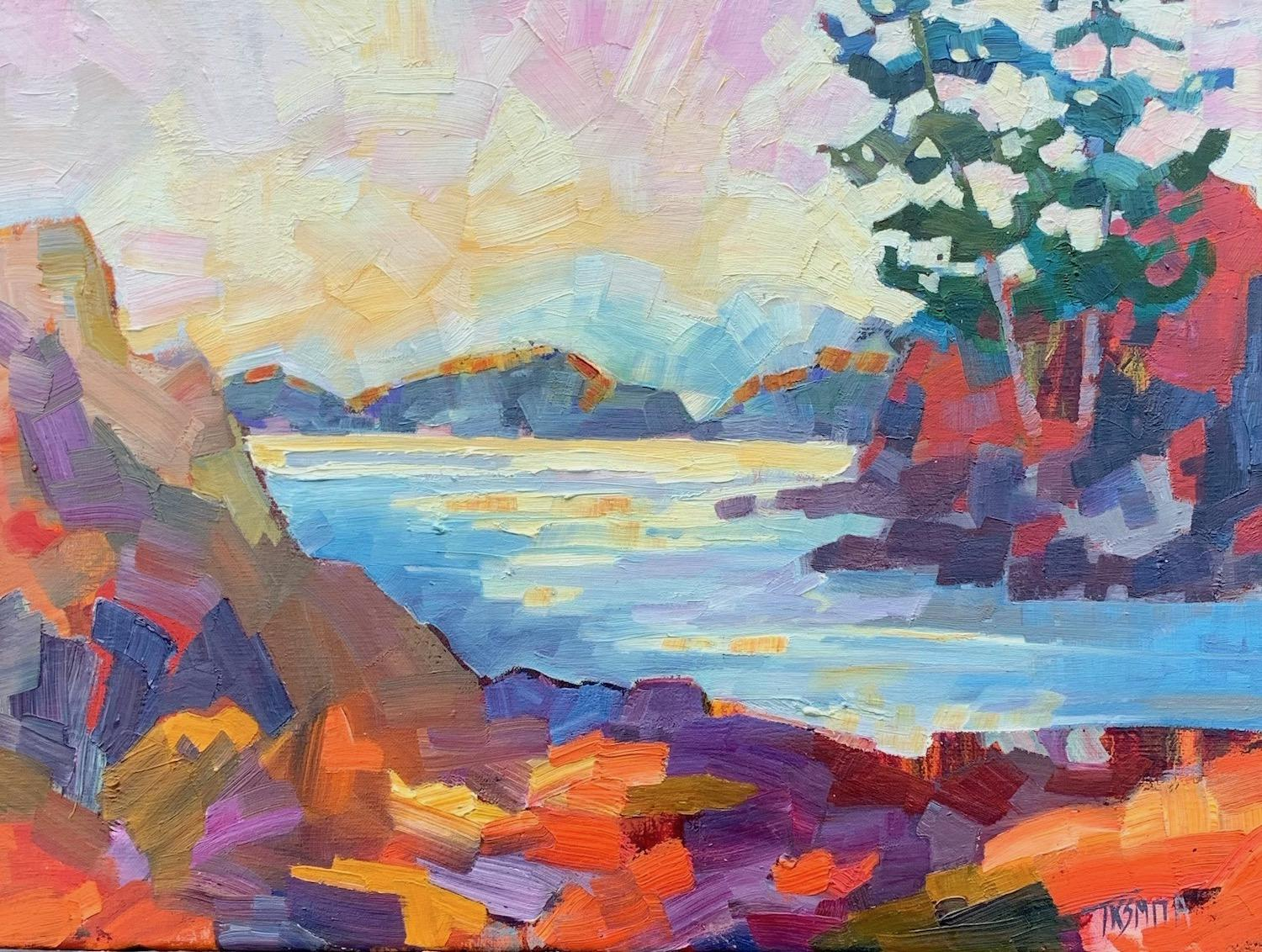 Cove, Oil Painting