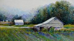 Violet Inspiration, Original Painting