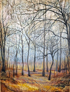 Winter Woods, Original Painting