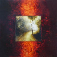 Forest Road, Abstract Painting
