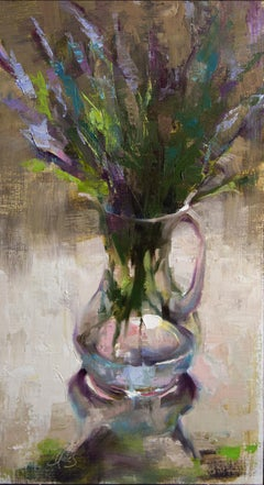 Essence of Lavender, Oil Painting