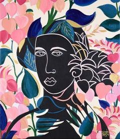 Deep in the Garden, Original Painting