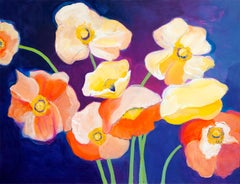 Poppies at Dusk, Original Painting