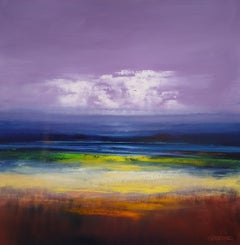 Horizon Sunset, Oil Painting