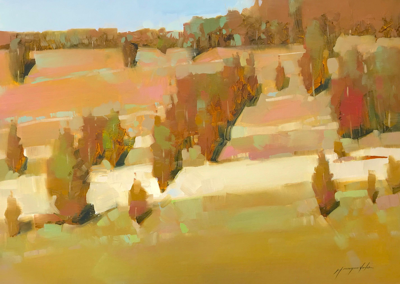 Autumn Breeze, Oil Painting