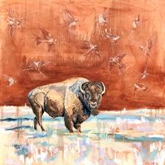 Lone Ranger, Oil Painting