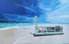Beach St. Station, Original Painting