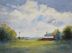 Loretto Afternoon, Original Painting