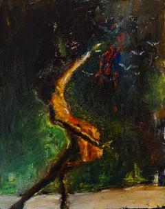 Like a Bird in Flight, Original Painting