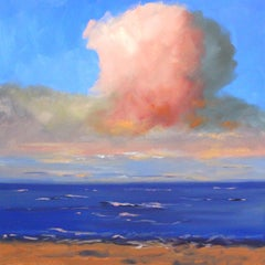 Pink Cloud, Oil Painting