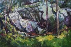 Outcrop, Original Painting