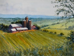 A View of Big Red, Original Painting