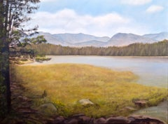 Bierstadt Lake Revisited, Oil Painting