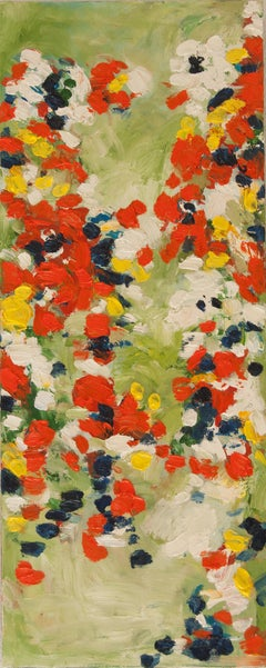 Full Bloom 1, Abstract Oil Painting