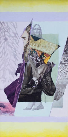 Luminous Figure, Abstract Painting