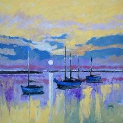 Across the Bay, Original Painting