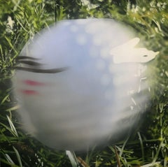Golf Ball in Motion, Original Painting