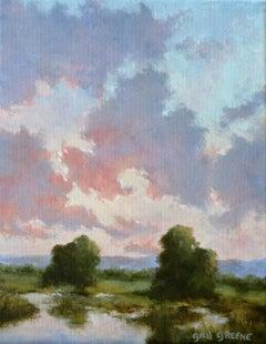 Light at Dusk, Oil Painting