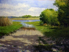Lake Mullet, Oil Painting