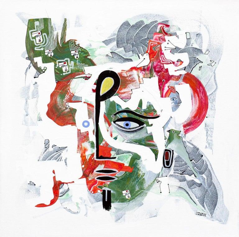 Listen, Original Painting - Art by Cameron Limbrick