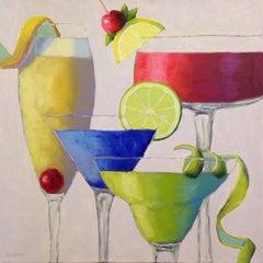 Cheers!, Oil Painting