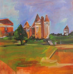 French Countryside Part VI, Original Painting