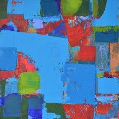 Color Story - Blue, Abstract Painting