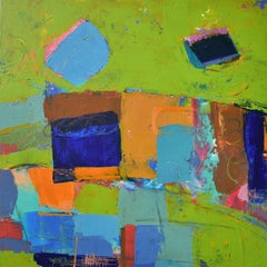 Color Story - Green, Abstract Painting