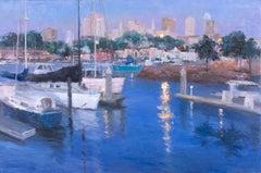 San Francisco Marina, Oil Painting